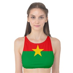 Flag Of Burkina Faso Tank Bikini Top