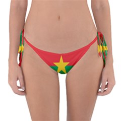 Flag Of Burkina Faso Reversible Bikini Bottom