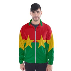 Flag Of Burkina Faso Wind Breaker (men)