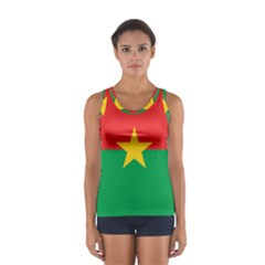 Flag Of Burkina Faso Sport Tank Top