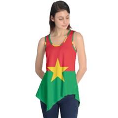 Flag Of Burkina Faso Sleeveless Tunic