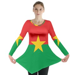 Flag Of Burkina Faso Long Sleeve Tunic