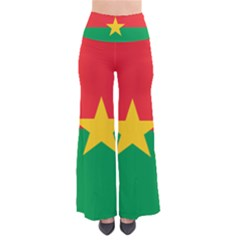 Flag Of Burkina Faso So Vintage Palazzo Pants