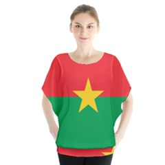 Flag Of Burkina Faso Blouse