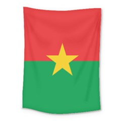 Flag Of Burkina Faso Medium Tapestry