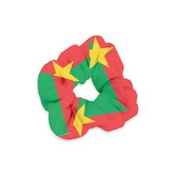 Flag Of Burkina Faso Velvet Scrunchie