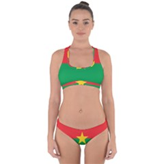 Flag Of Burkina Faso Cross Back Hipster Bikini Set
