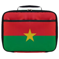 Flag Of Burkina Faso Full Print Lunch Bag