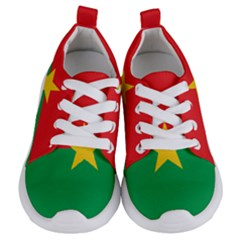 Flag Of Burkina Faso Kids  Lightweight Sports Shoes