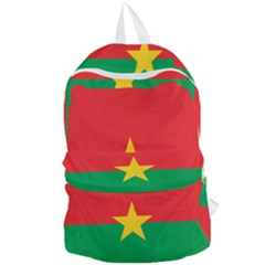 Flag Of Burkina Faso Foldable Lightweight Backpack