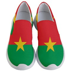 Flag Of Burkina Faso Women s Lightweight Slip Ons