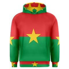 Flag Of Burkina Faso Men s Overhead Hoodie