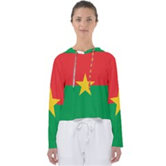 Flag Of Burkina Faso Women s Slouchy Sweat