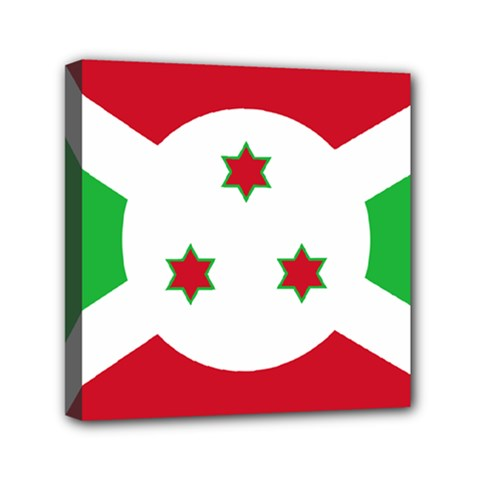 Flag Of Burundi Canvas Travel Bag
