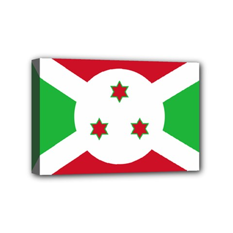 Flag Of Burundi Mini Canvas 6  X 4