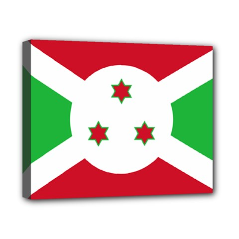 Flag Of Burundi Canvas 10  X 8