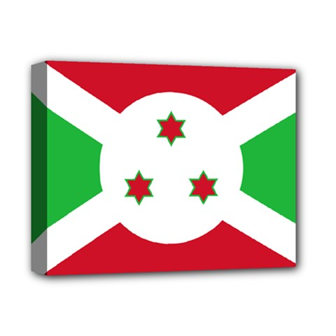 Flag Of Burundi Deluxe Canvas 14  X 11  by abbeyz71