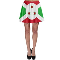Flag Of Burundi Skater Skirt