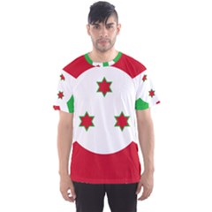 Flag Of Burundi Men s Sports Mesh Tee