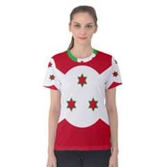 Flag Of Burundi Women s Cotton Tee