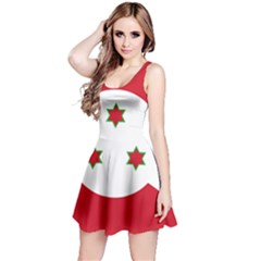 Flag Of Burundi Reversible Sleeveless Dress
