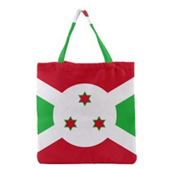 Flag Of Burundi Grocery Tote Bag