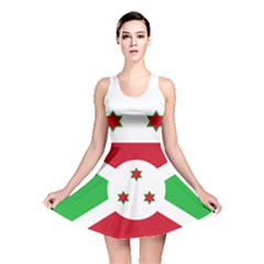 Flag Of Burundi Reversible Skater Dress