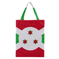 Flag Of Burundi Classic Tote Bag