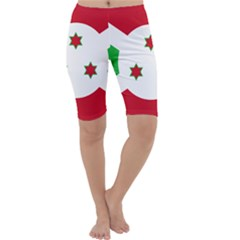 Flag Of Burundi Cropped Leggings