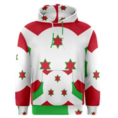 Flag Of Burundi Men s Pullover Hoodie