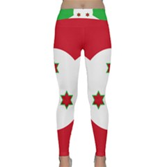 Flag Of Burundi Classic Yoga Leggings