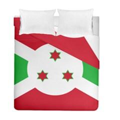 Flag Of Burundi Duvet Cover Double Side (full/ Double Size)