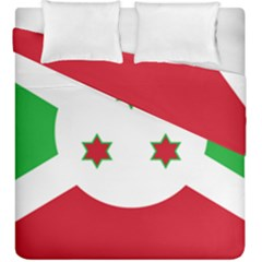 Flag Of Burundi Duvet Cover Double Side (king Size)