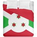 Flag of Burundi Duvet Cover Double Side (California King Size) View1