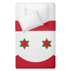 Flag Of Burundi Duvet Cover Double Side (single Size)