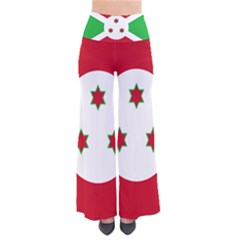 Flag Of Burundi So Vintage Palazzo Pants