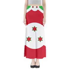Flag Of Burundi Full Length Maxi Skirt