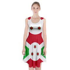 Flag Of Burundi Racerback Midi Dress