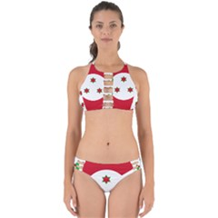 Flag Of Burundi Perfectly Cut Out Bikini Set