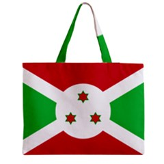 Flag Of Burundi Medium Tote Bag