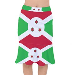 Flag Of Burundi Mermaid Skirt