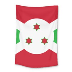 Flag Of Burundi Small Tapestry