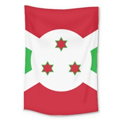Flag Of Burundi Large Tapestry