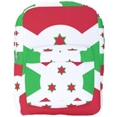 Flag Of Burundi Full Print Backpack