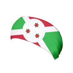 Flag Of Burundi Yoga Headband