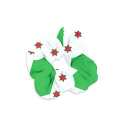 Flag Of Burundi Velvet Scrunchie
