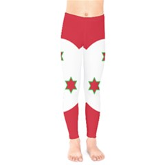 Flag Of Burundi Kids  Legging