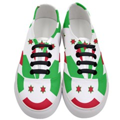 Flag Of Burundi Women s Classic Low Top Sneakers