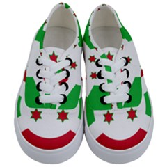 Flag Of Burundi Kids  Classic Low Top Sneakers