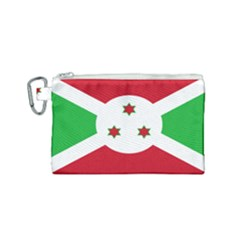 Flag Of Burundi Canvas Cosmetic Bag (small)